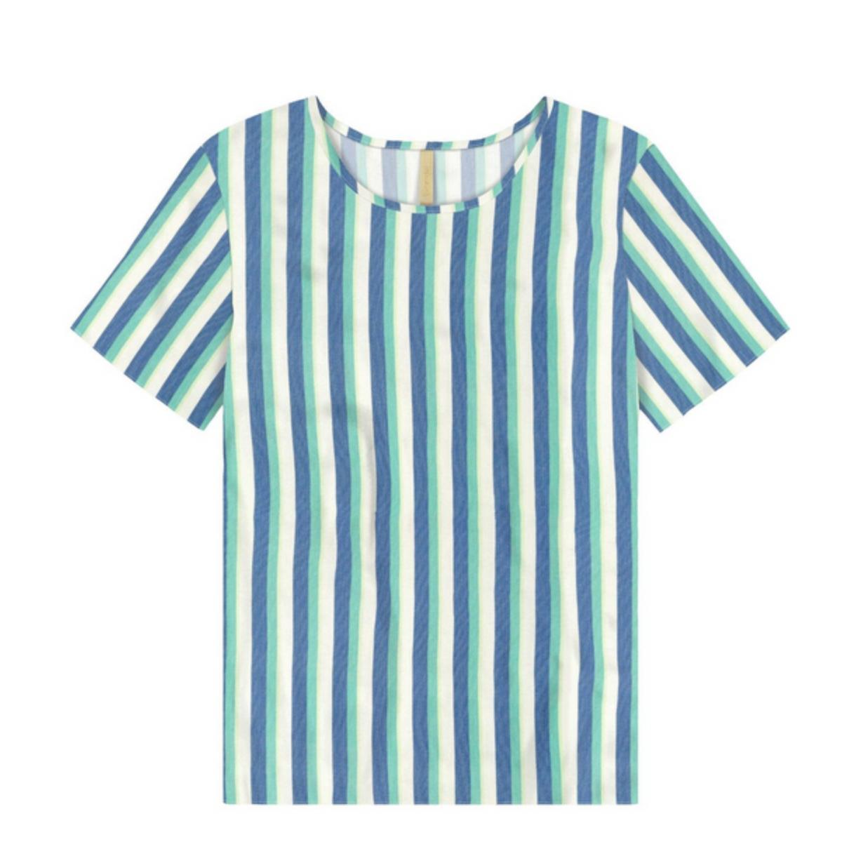 Blusa Feminina Lunender 46517 Azul