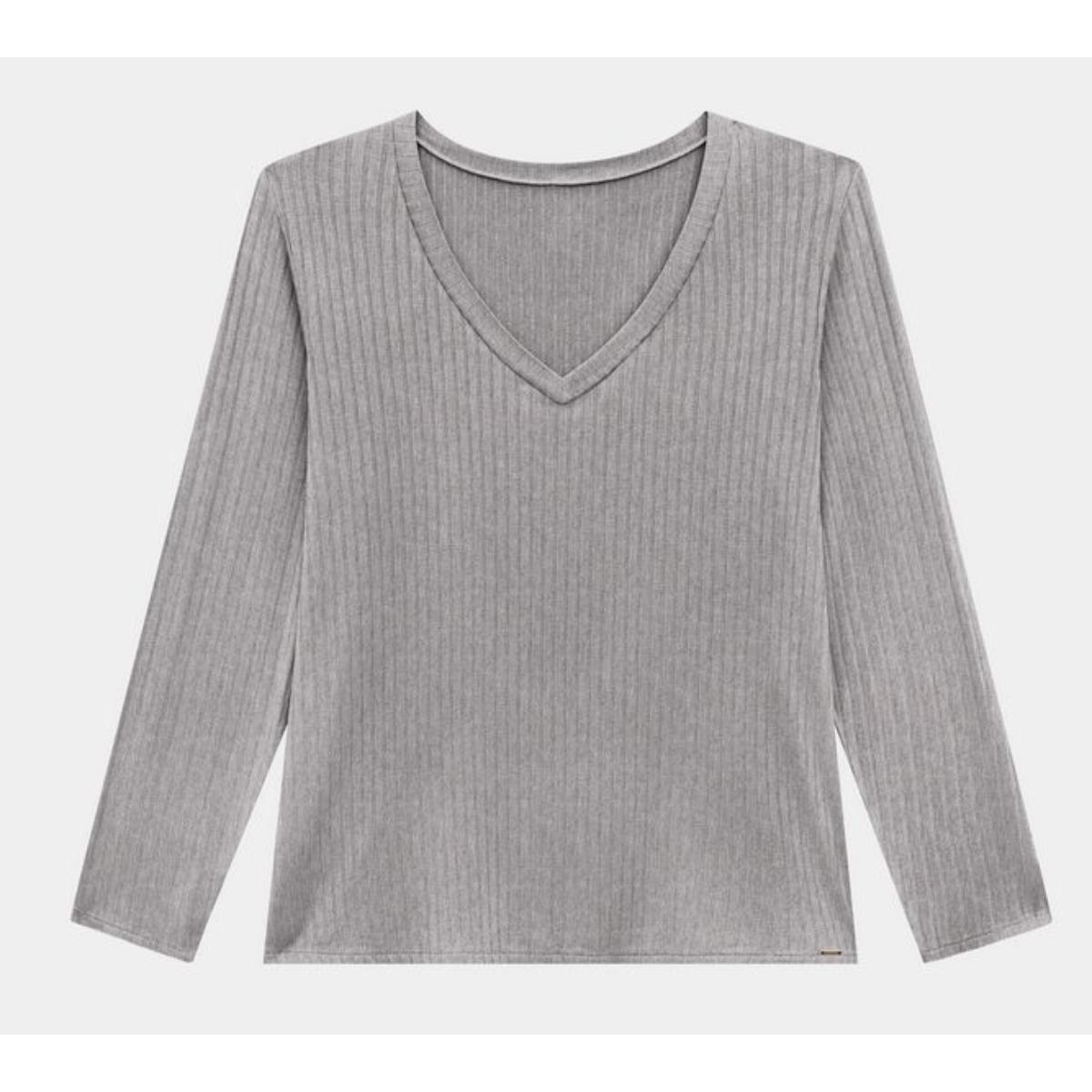 Blusa Feminina Lunender 00450 Mescla