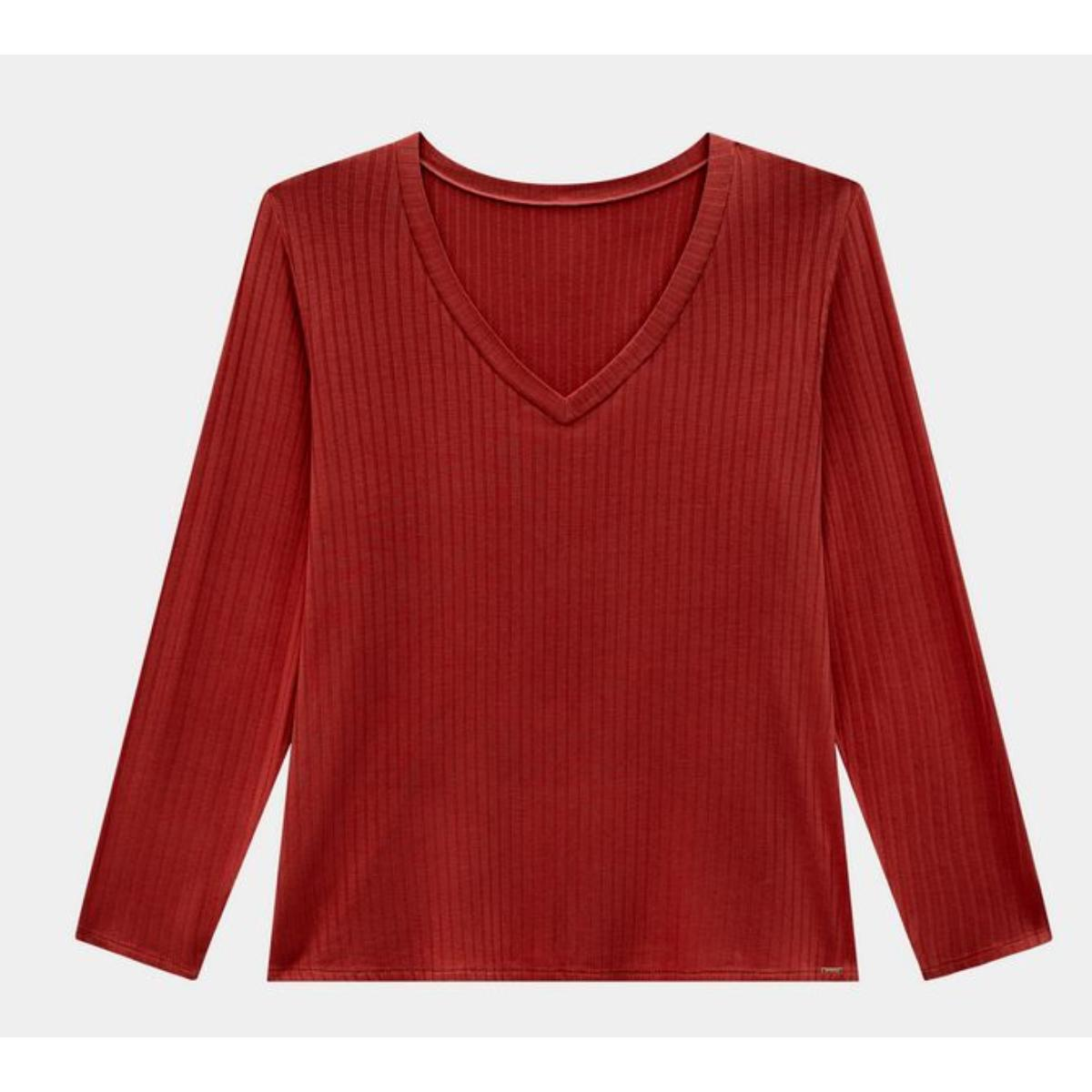 Blusa Feminina Lunender 00450 Vermelho