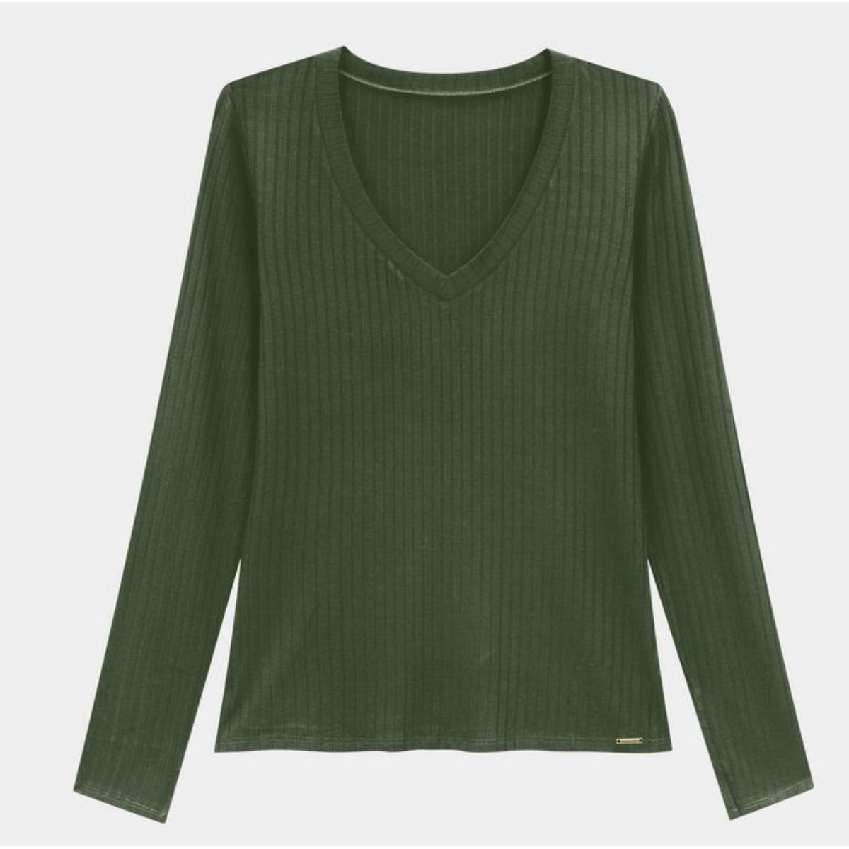 Blusa Feminina Lunender 00344 Verde