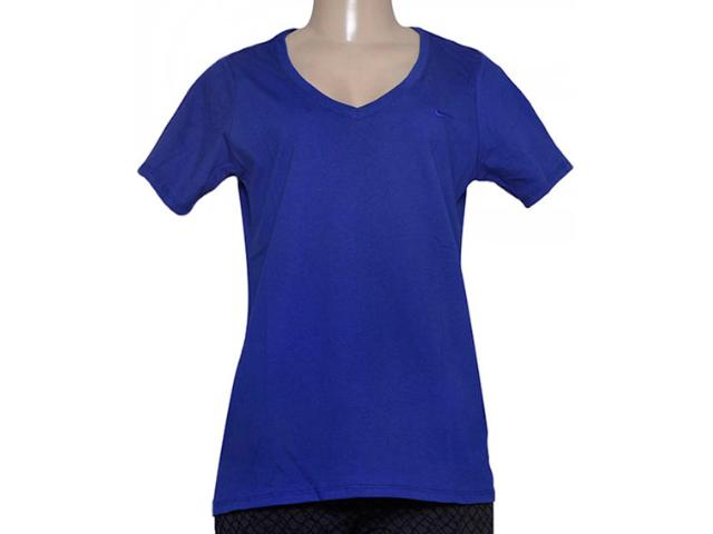 Blusa Feminina Nike 704298-455 Embroidered Swoosh  Royal