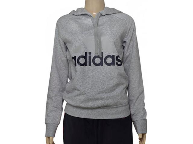 Feminino Blusão Adidas B47027 Ess Lin oh Mescla