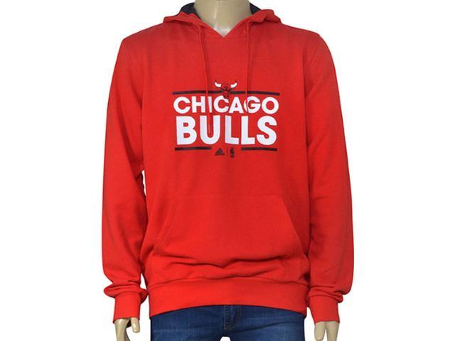 Blusão Masculino Adidas B45418 Nba Hoody Vermelho