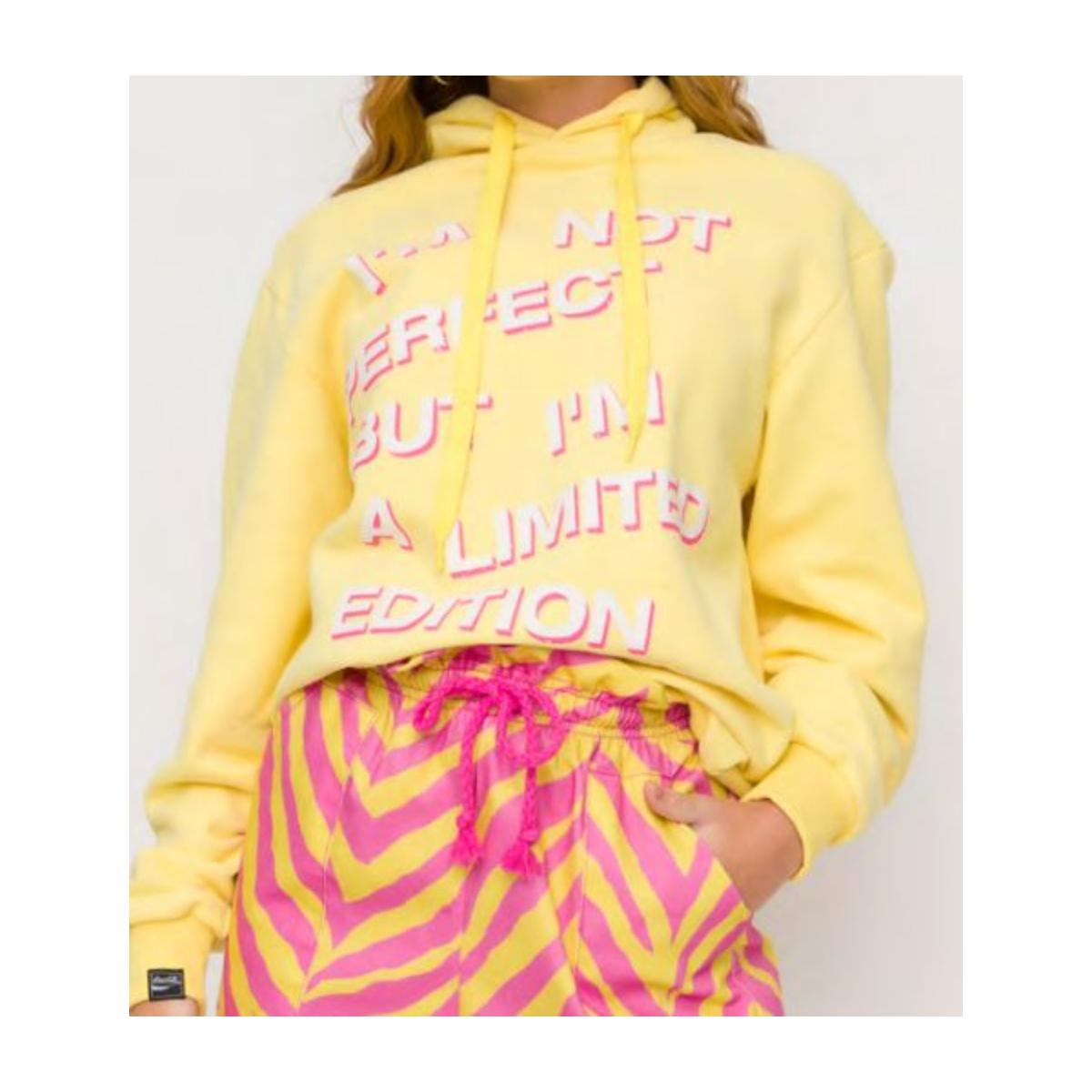 Blusão Feminino Coca-cola Clothing 403200500 53686 Amarelo