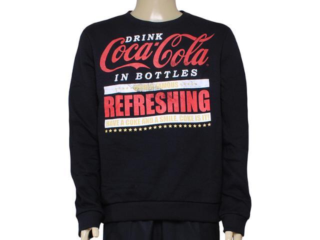 Blusão Masculino Coca-cola Clothing 413200230 Preto