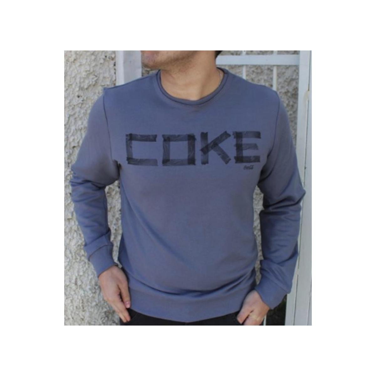 Blusão Masculino Coca-cola Clothing 413200334 Cinza
