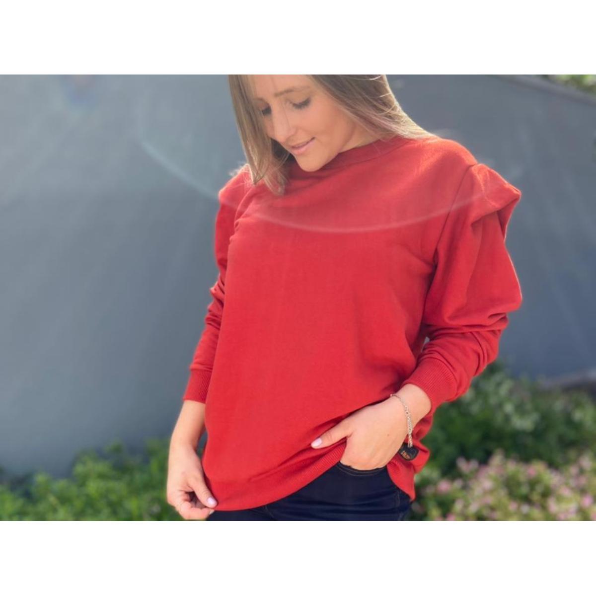 Blusão Feminino Colcci 400100860 48344 Vermelho