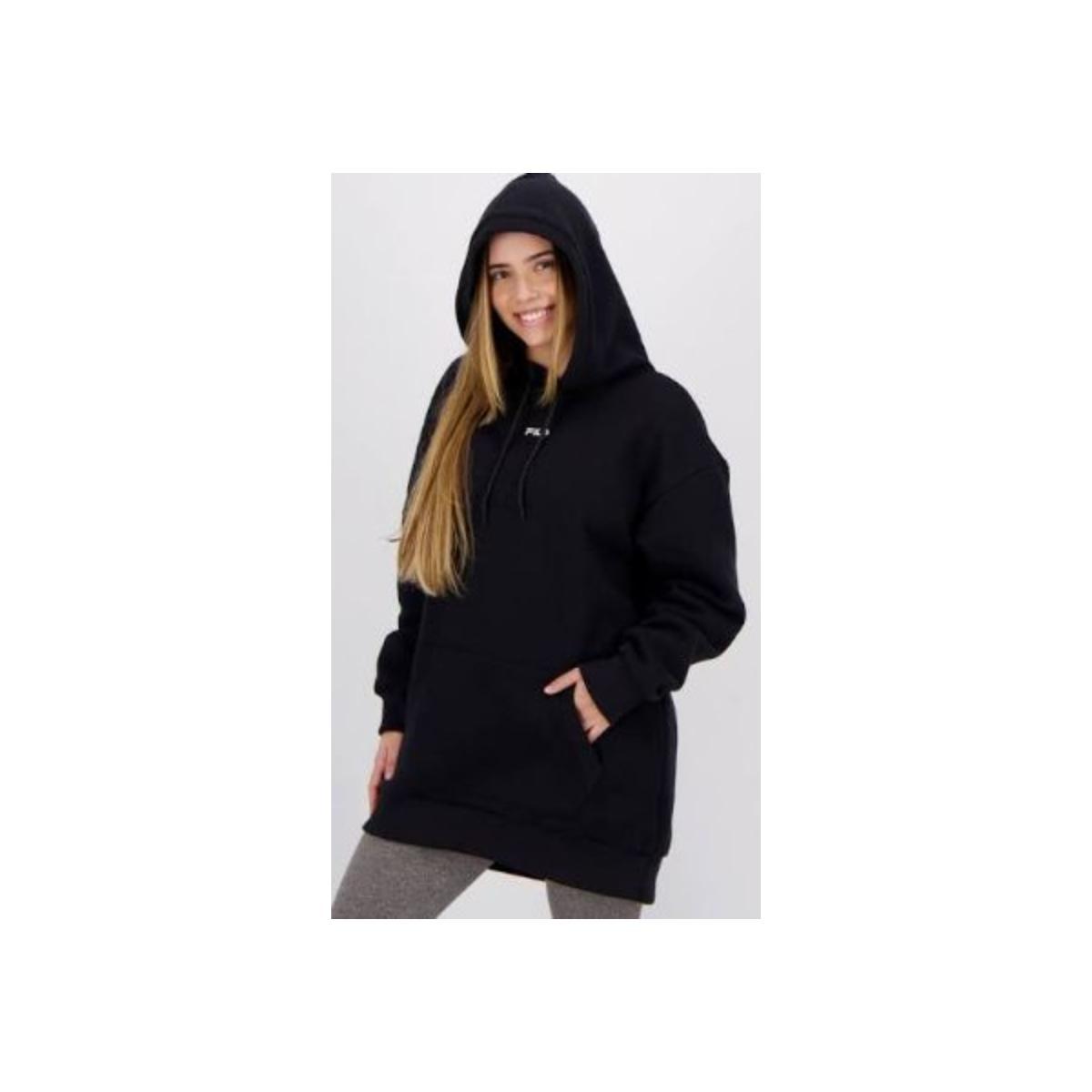 Blusão Feminino Fila F12l523010.160 Max Soft Preto