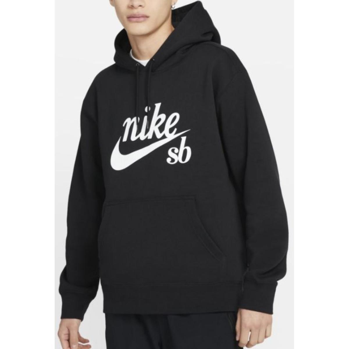 Blusão Masculino Nike Cw4383-010 sb Craft Hoodie Preto