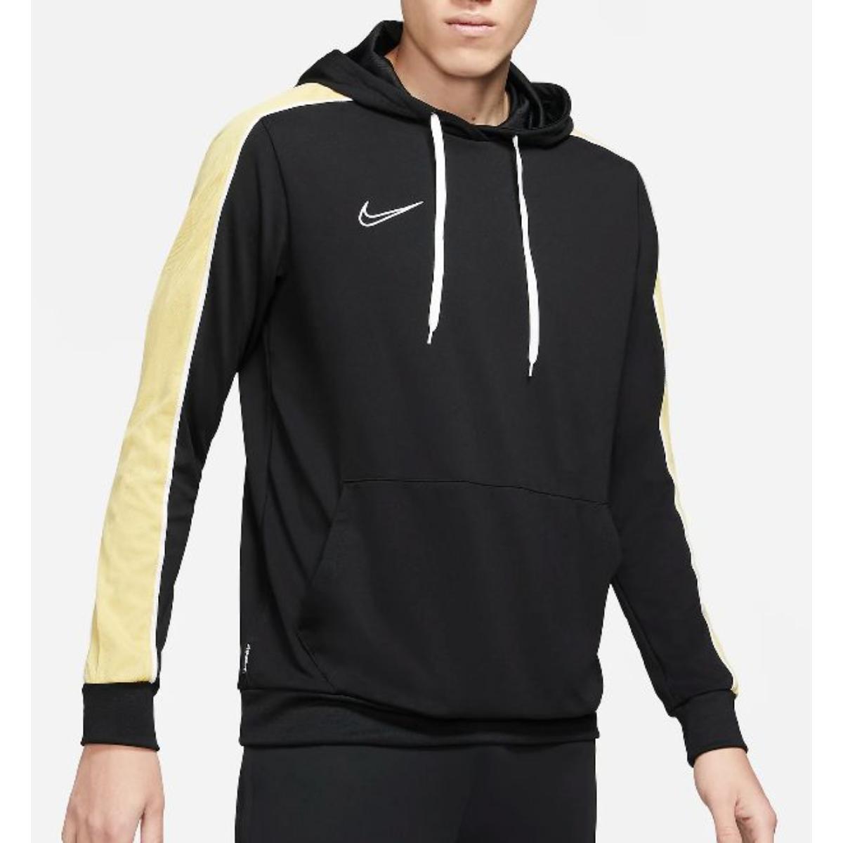 Blusão Masculino Nike Cz0966-011 Dri-fit Academy Preto/amarelo