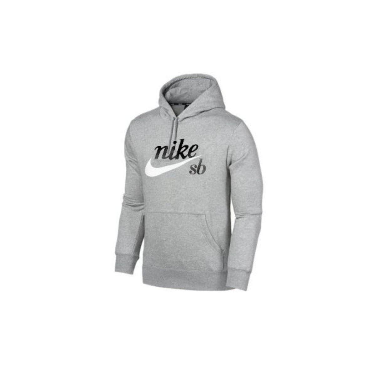 Blusão Masculino Nike Cw4383-063 sb Craft Hoodie Mescla