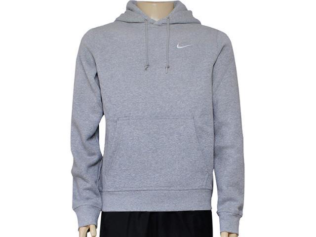 Blusão Masculino Nike 611457-063 Club Hoody-swoosh Mescla