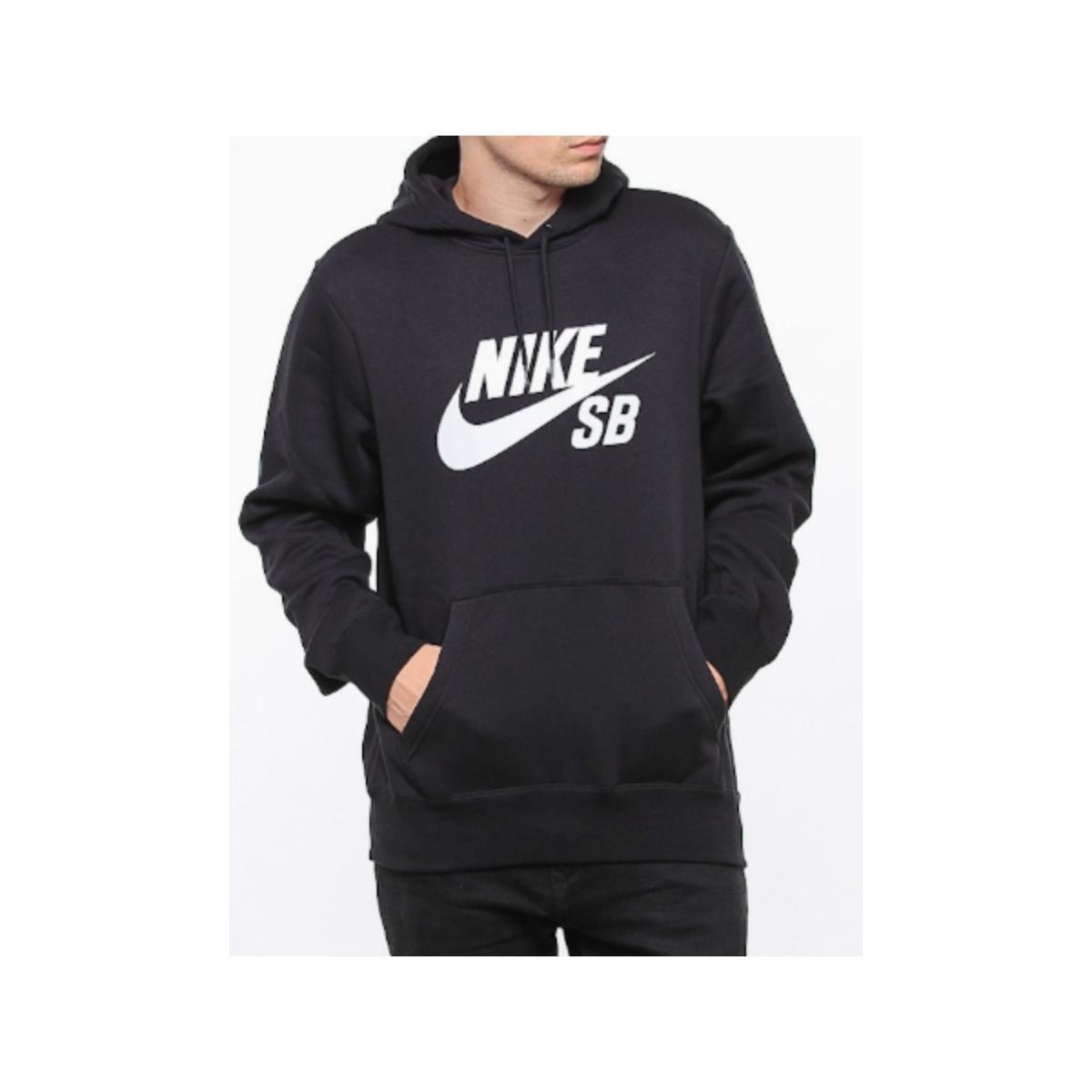 Blusão Masculino Nike Aj9733-010 sb Icon Preto/branco