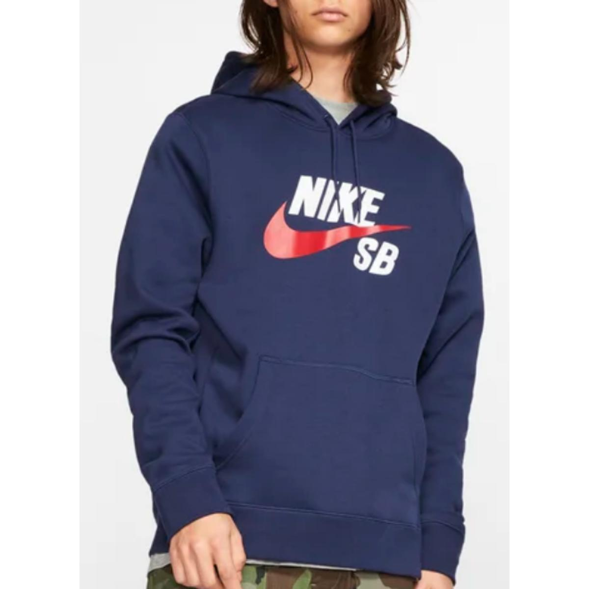 Blusão Masculino Nike Aj9733-410 sb Icon Marinho