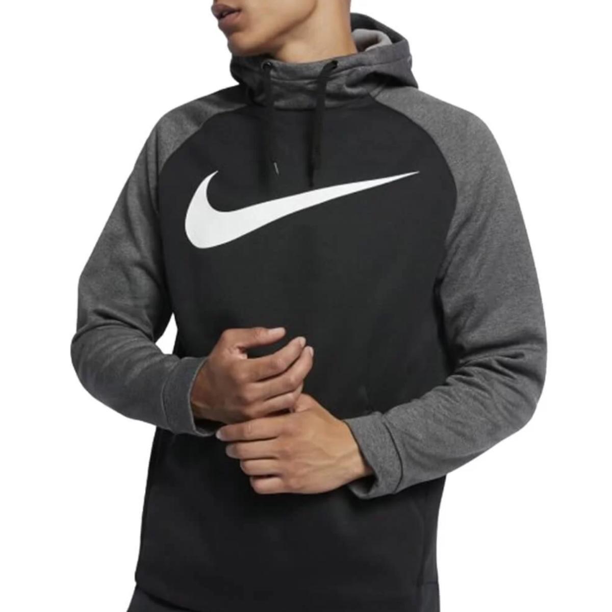 Blusão Masculino Nike 931991-010 Therma Preto/grafite