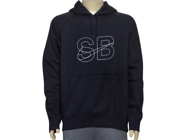 Blusão Masculino 835977-010 Nike sb Icon Hoodie  Preto