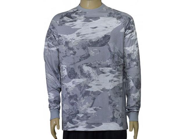Blusão Masculino Nike 833948-012 Nsw Modern Crw ft su Nrg Cinza/branco