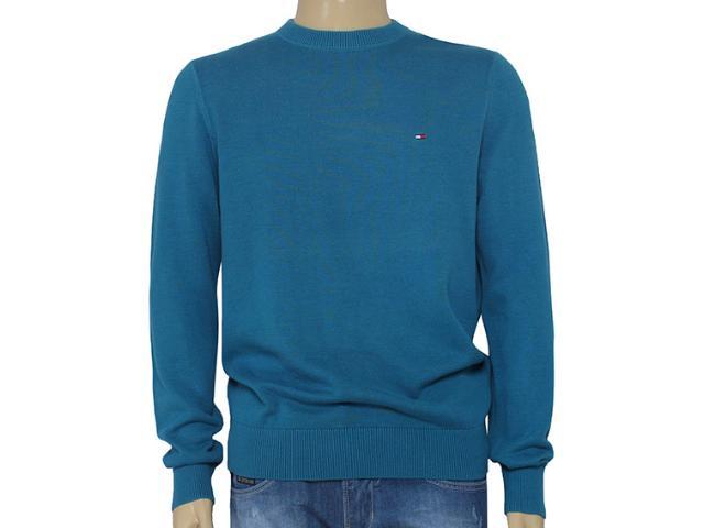 Blusão Masculino Tommy Th0857861891 Azul