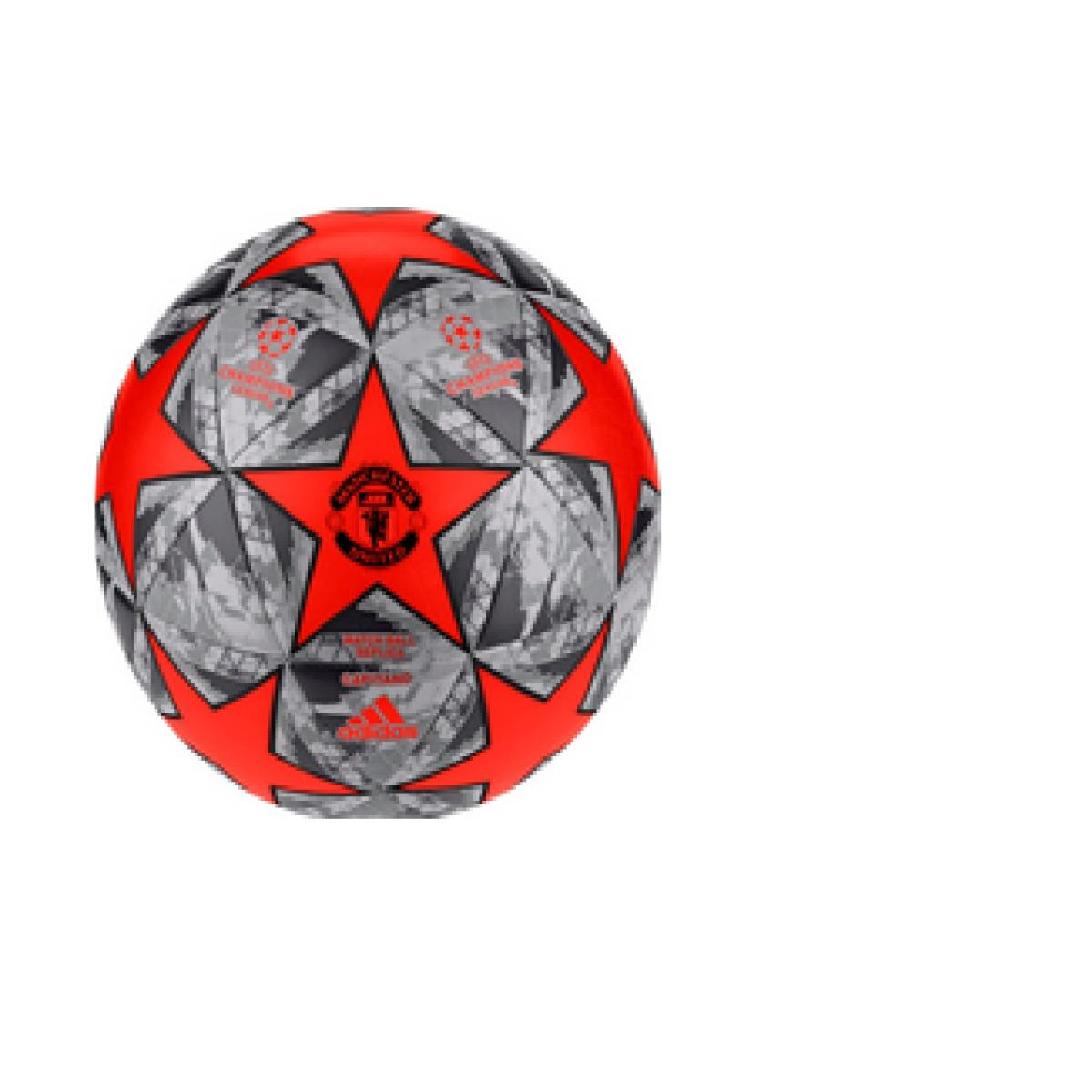 Bola Masculina Adidas Dy2538 Finale Mufc Cpt Preto/laranja