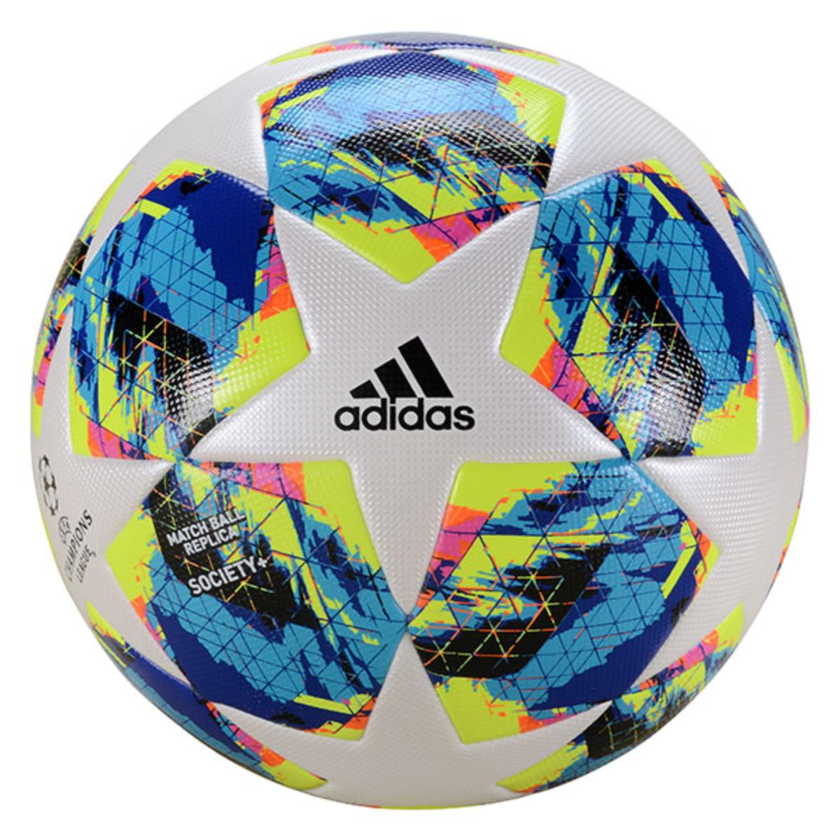 Bola Unisex Adidas Dy2552 Finale Ucl Society Branco Color
