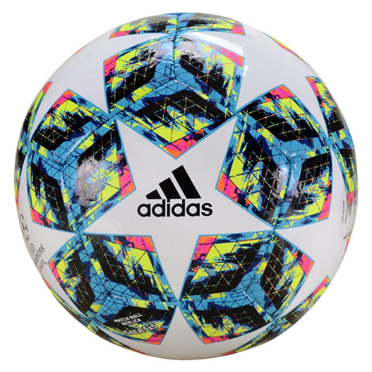 Bola Unisex Adidas Dy2548 Finale Ucl Futsal 5x5 Branco Color