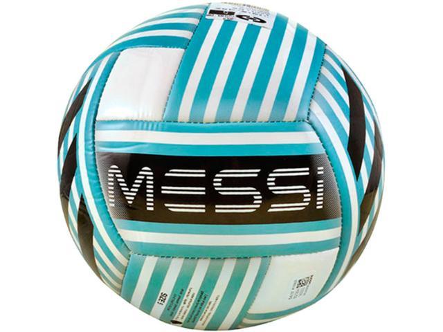 Bola Unisex Adidas Bq1364 Messi q3 Branco/azul/preto