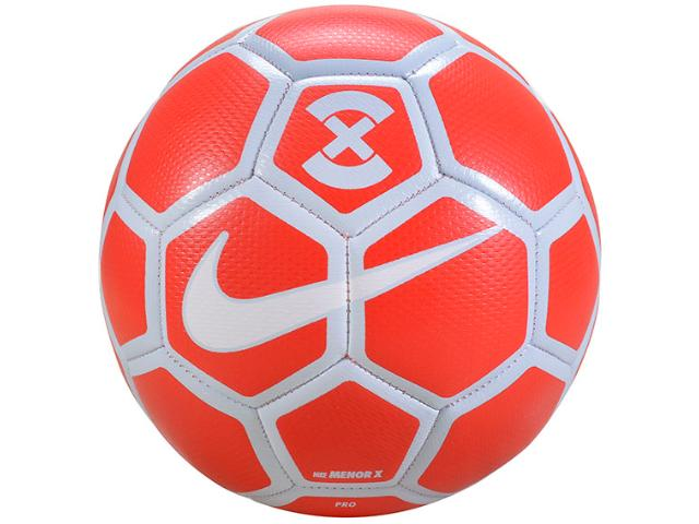 Bola Masculina Nike Sc3039-673 Footballx Menor Vermelho/branco