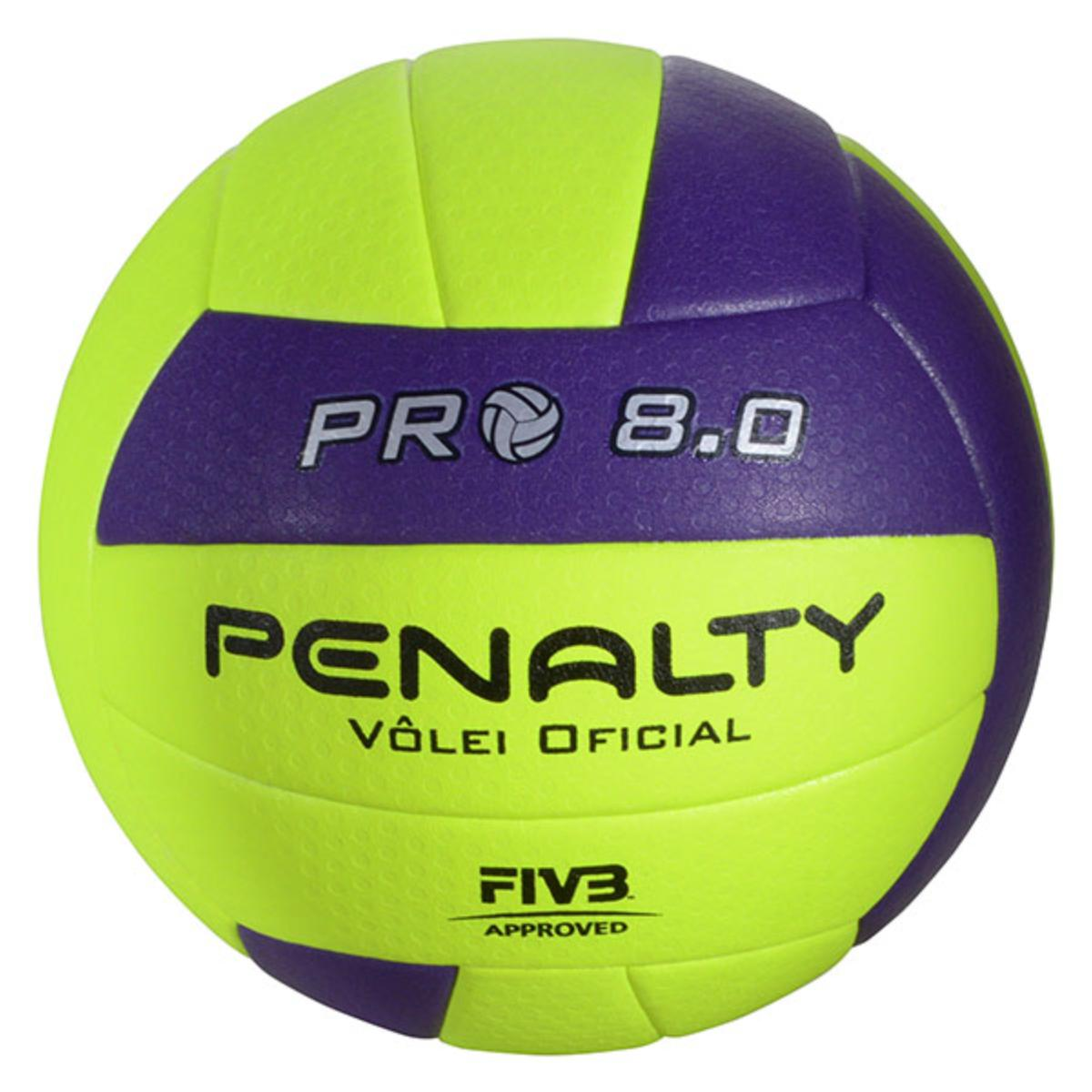 Bola Unisex Penalty 5415822400 8.0 Pro ix Limão/roxo
