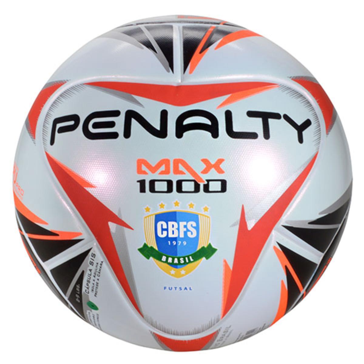 Bola Unisex Penalty 5415911170 Max 1000 Branco/preto/vermelho
