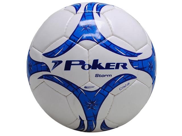 Bola Unisex Poker 05674 Branco/azul