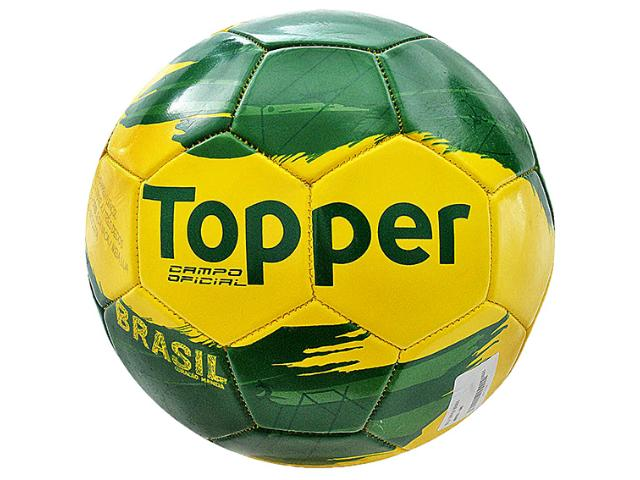 Bola Unisex Topper 4130326 Brasil Verde/amarelo