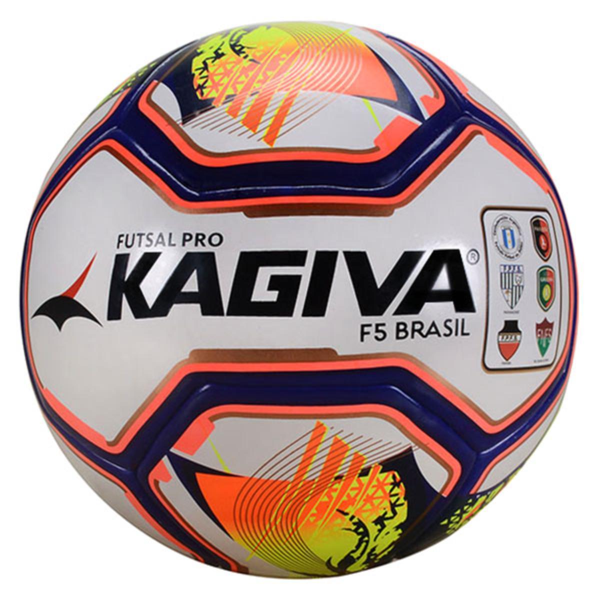 Bola Unisex Topper 0089010002023 Futsal f5 Pro 2019 Brasil Branco Color