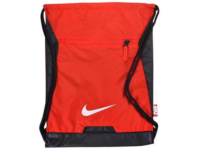 Bolsa Masculina Ba5256-657 Nike Alpha Adapt Gym Sack Vermelho/preto