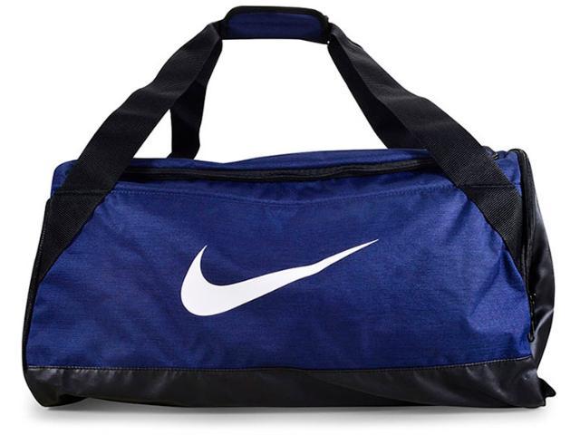 Bolsa Masculina Nike Ba5334-410 Brasilia Training Duffel Azul/preto