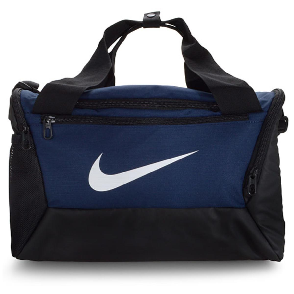 Bolsa Unisex Nike Ba5961-410 Brasilia Preto/marinho