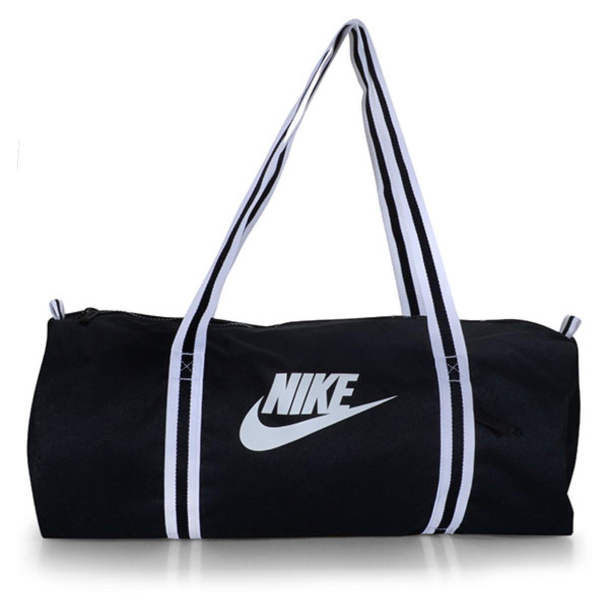 Bolsa Unisex Nike Ba6147-010 Heritage Preto/branco