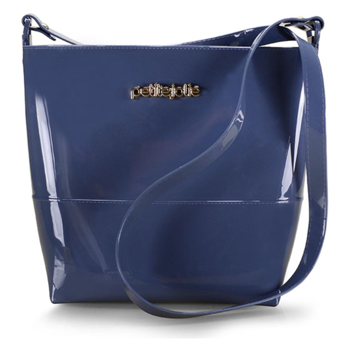 Bolsa Feminina Petite Jolie Pj4117 Azul Mule