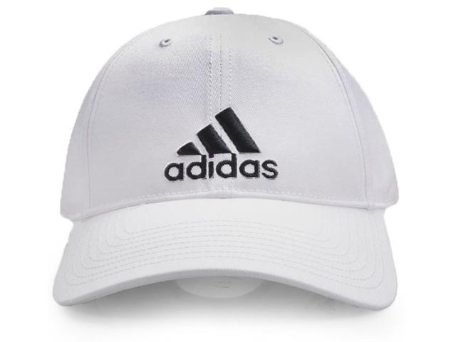 Boné Masculino Adidas S98150 6p Cap Cotton Branco