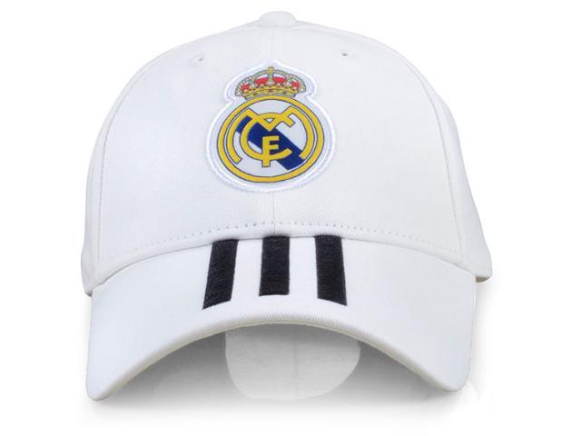 Boné Unisex Adidas Cy5600 Real Madrid 3 Branco/preto
