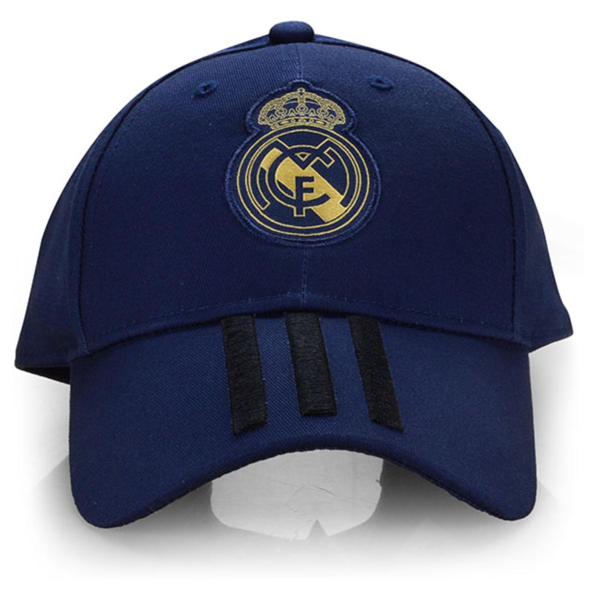 Boné Masculino Adidas Dy7721 Real Madrid C40 Marinho