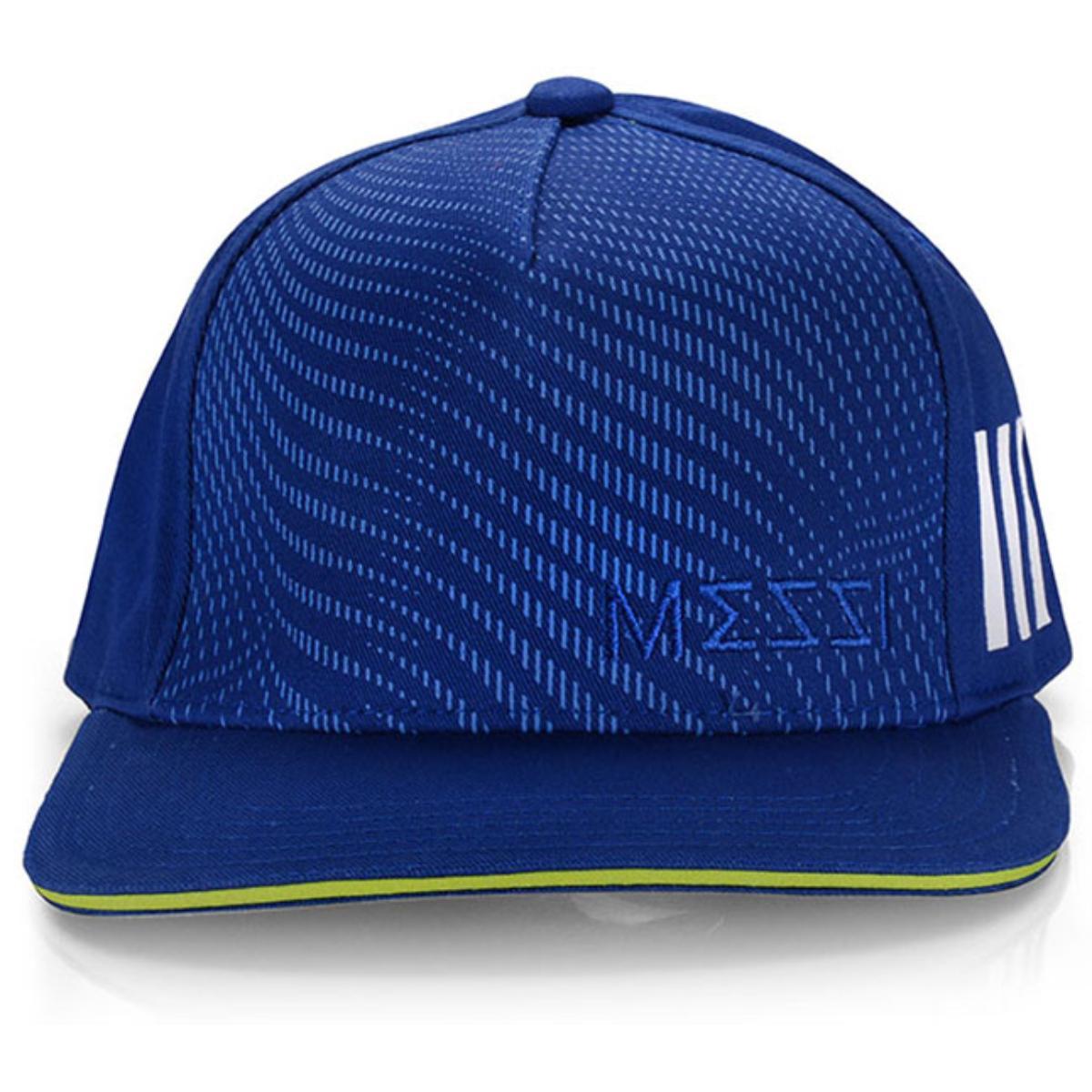 Boné Masculino Adidas Ec2478 Messi Kids ya Azul/limão