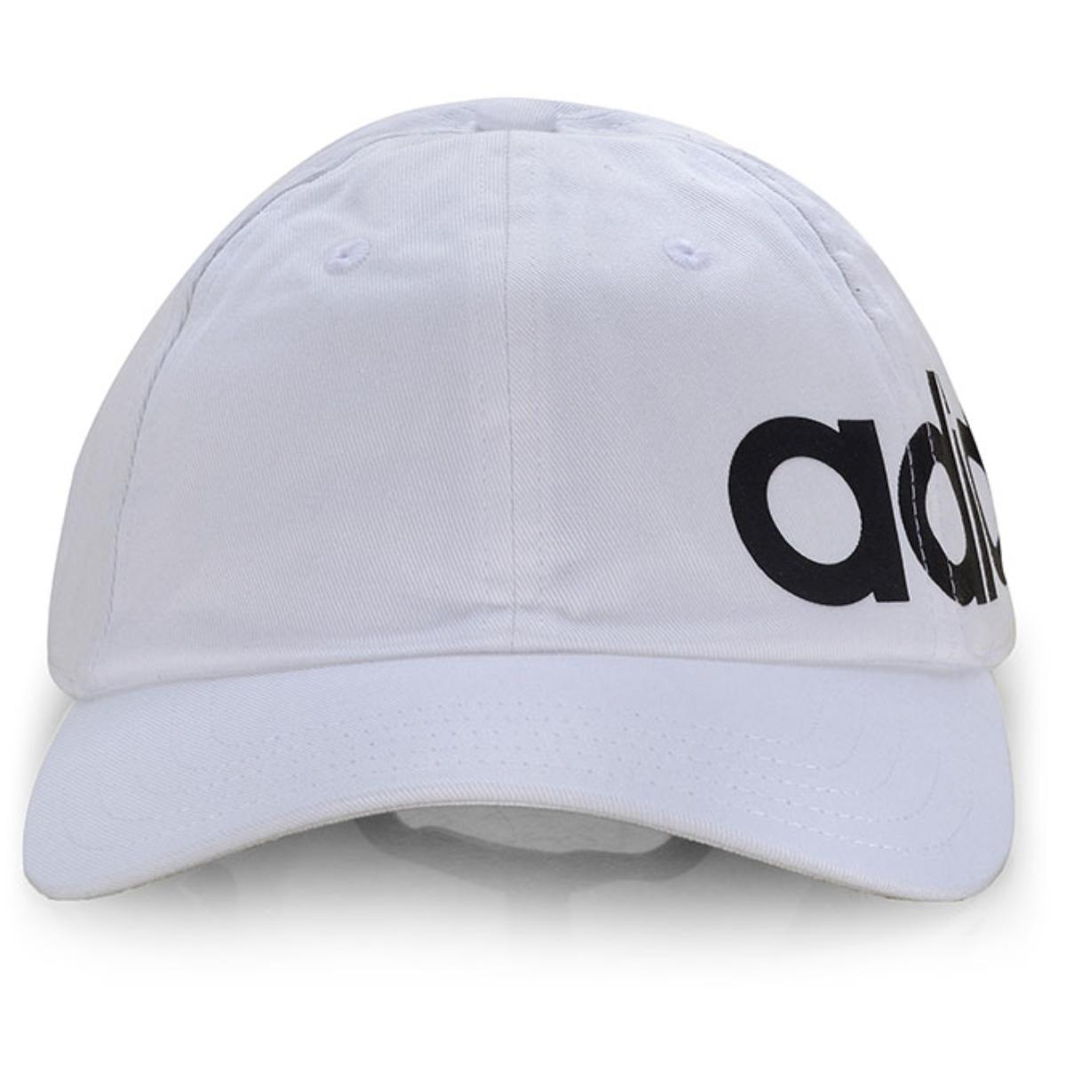 Boné Masc Infantil Adidas Ed0319 Bsbll Lnr Bld Branco