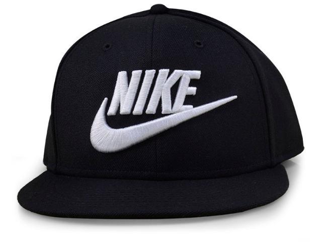 Boné Masculino Nike 584169-010 Futura True-red Preto