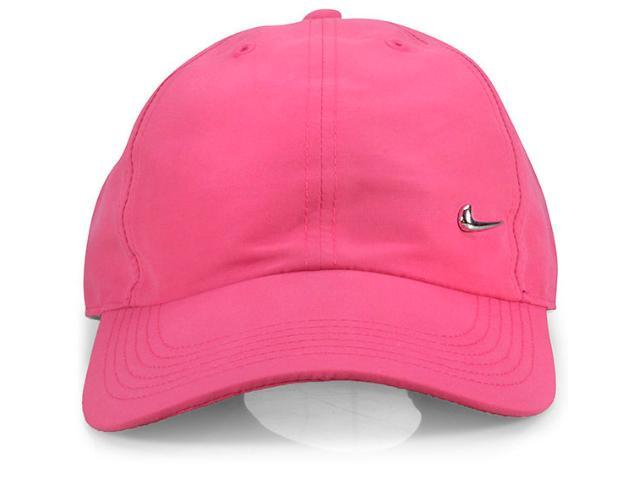 Boné Feminino Nike 405043-617 Metal Swoosh Rosa