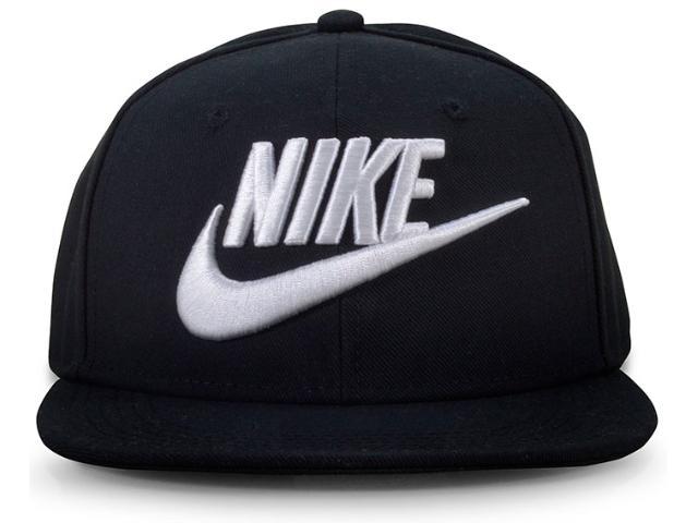 Boné Masculino Nike 614590-010 Infantil y nk True Preto/branco