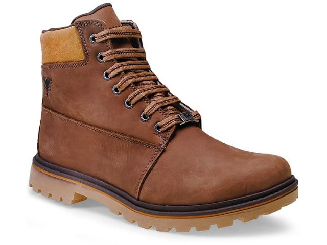 Bota Masculina Cavalera Shoes 13.05.0394 Rato/wiski