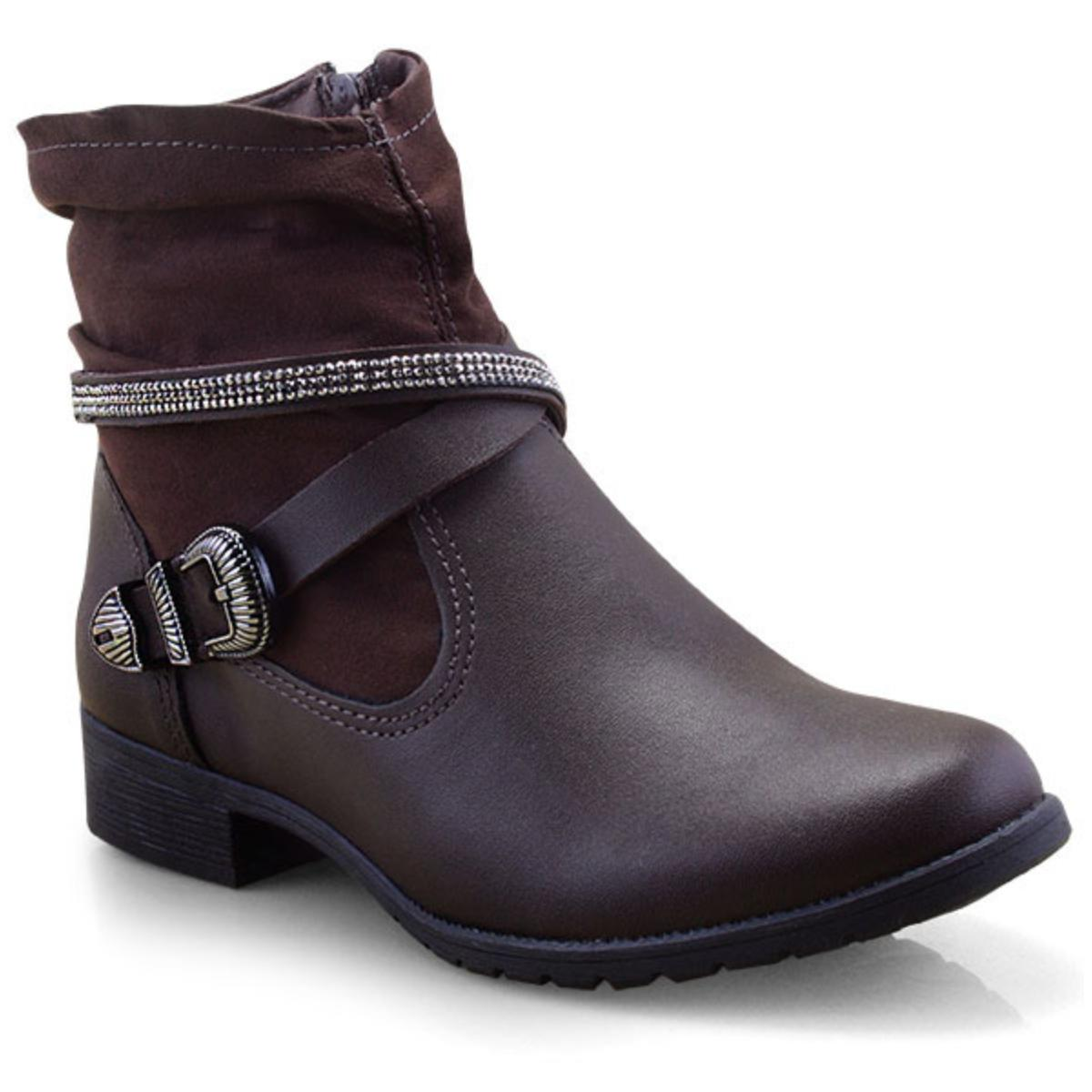 Bota Feminina Dakota G1224 Chocolate