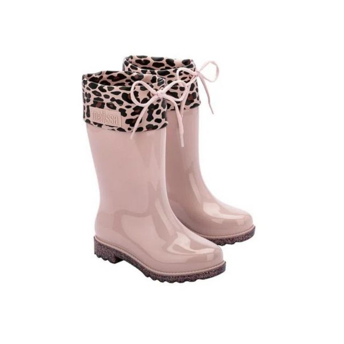 Bota Fem Infantil Melissa 33365 54039 Rain Boot Rosa