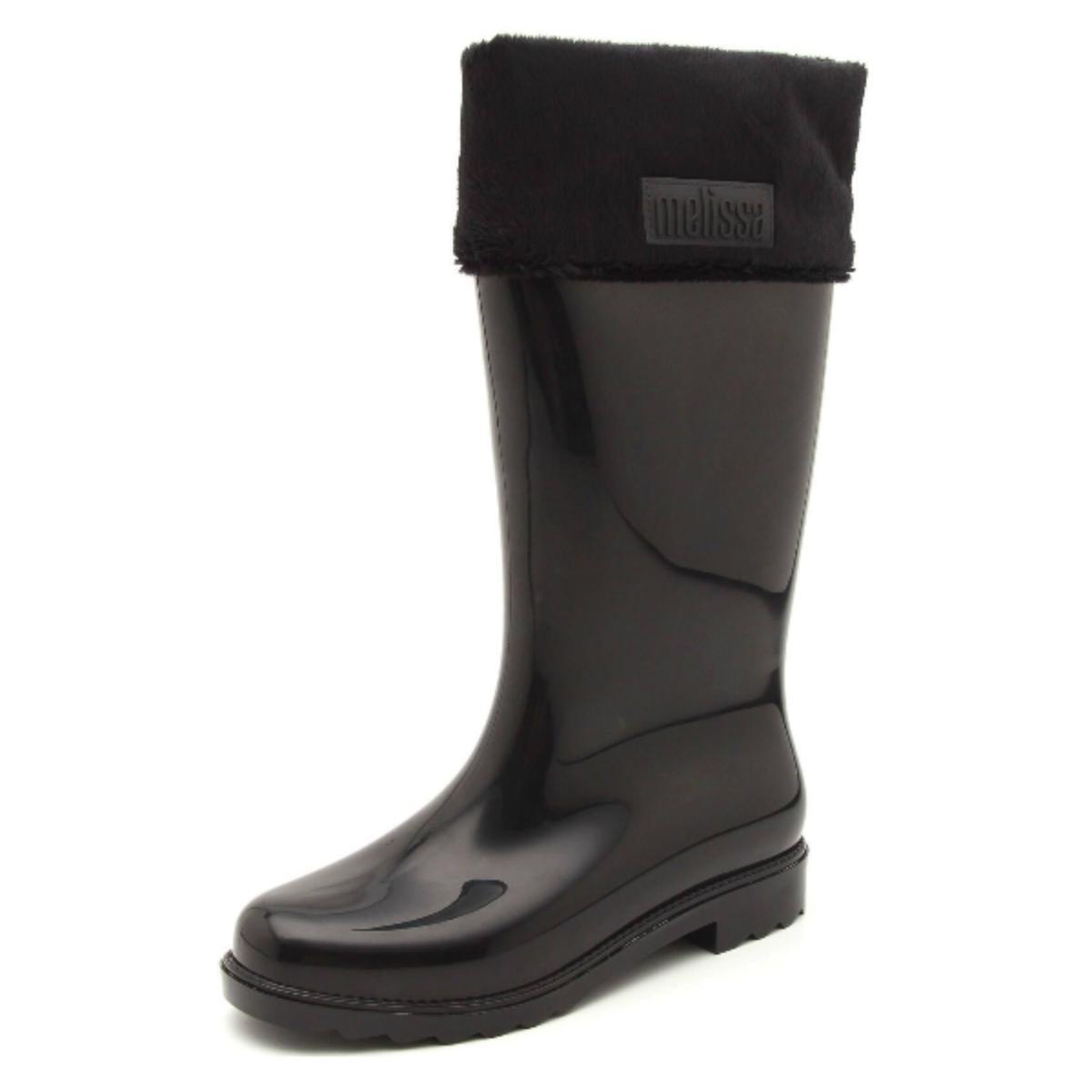 Bota Feminina Melissa 32586 50481 Winter Boot ii Preto