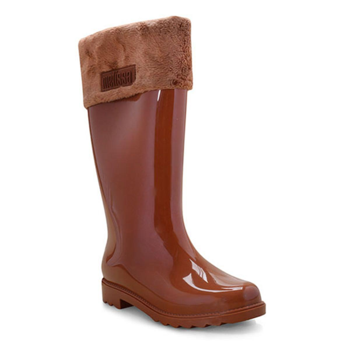 Bota Feminina Melissa 32586 50526 Winter Boot ii Marrom